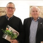 Marc Bourlier in župan Občine Mirna Dušan Skerbiš